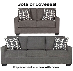 Ashley® Brace replacement cushion cover, 3770238 sofa or 3770235 love