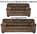 Ashley® Accrington Earth replacement cushion cover, 7050838 sofa or 7050835 love