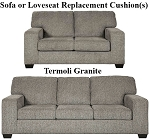 Ashley® Termoli Granite replacement cushion cover, 7270638 sofa or 7270635 love