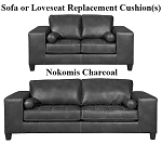 Ashley® Nokomis Charcoal replacement cushion cover, 8770138 sofa or 8770135 love