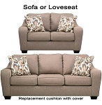Ashley® Arietta replacement cushion cover, 8730238 sofa or 8730235 love