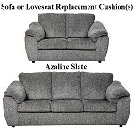 Ashley® Azaline Slate replacement cushion cover, 9320238 sofa or 9320235 love