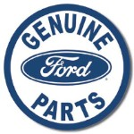 Ford Parts Tin Sign