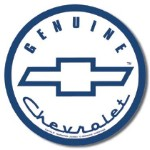 Genuine Chevrolet Tin Sign
