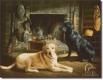 Labradors Tin Sign