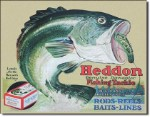 Heddon Frogs Tin Sign