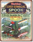 Heddon Super Dowaqiac Tin Sign
