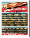 Remington Cartridges Tin Sign