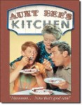 Aunt Bees Kitchen Tin Sign