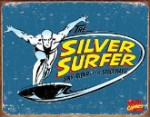 Silver Surfer Retro Tin Sign