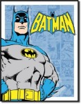Batman Retro Panels Tin Sign