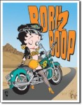 Betty Boop Born 2 Boop Tin Sign
