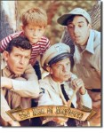 Men of Mayberry Tin Sign