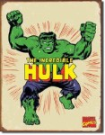 The Incredible Hulk Tin Sign