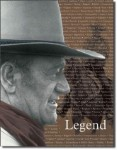 John Wayne Legend Tin Sign