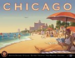 Erickson Chicago Tin Sign