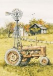 Fusco Farm Scene Tin Sign