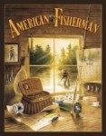 Kaatz American Fisherman Tin Sign