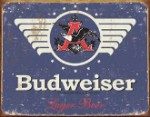 Budweiser 1936 Logo Tin Sign