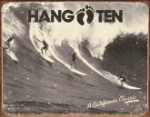 Hang Ten California Classic Tin Sign