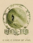 Hang Ten Good Fortune Tin Sign