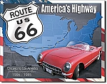 Route 66 1926 to 1985 Tin Sign