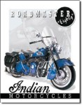 Indian '51 Roadmaster Tin Sign