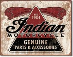 Indian Genuine Parts Tin Sign