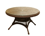 Lexington Synthetic All Weather Wicker Conversation Table