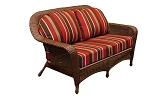 Lexington Synthetic All Weather Wicker Love Seat