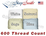 Fabulous 3/4 Size 100% Cotton 600 Thread Count Wrinkle Resistant Sheet Set