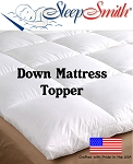 California Queen Down Mattress Topper