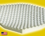Queen Size Egg Crate Foam Mattress Topper 2
