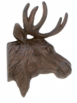 Cast Iron Moose Wall Decor