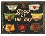 Soup Of The Day Wood Sign