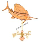 Sailfish Weather Vane