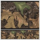 Mossy Oak Camouflage Leafs Peel and Stick Border