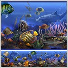 Under the Sea Animals Peel and Stick Border