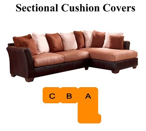 Ashley Masoli Beige Sectional Replacement Cushion And Cover 14201