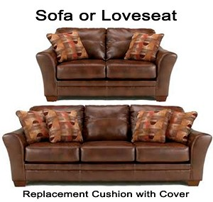 Ashley® Del Rio replacement cushion cover, 3920038 sofa or 3920035 love