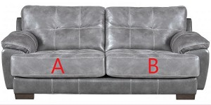 Jackson®Drummond Steel 429603 Sofa or 429602 Love Seat Replacement Cushion Cover