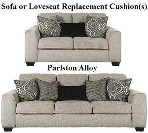 Ashley® Parlston Alloy replacement cushion cover, 7890238 sofa or 7890235 love