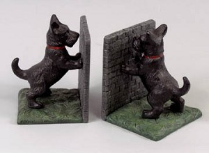 Scottie Dog Bookends