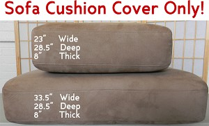 Sofa Replacement Cushion Cover Only