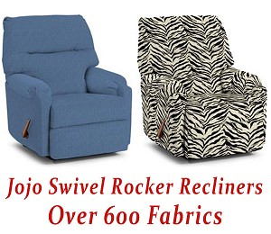 Jojo Swivel Rocker Recliner