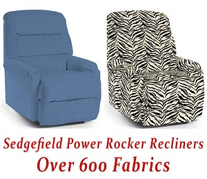 Sedgefield Power Rocker Recliner