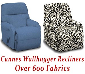 Cannes Wallhugger Recliner