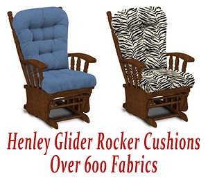 Glider Rocker Cushions for Henley Chair