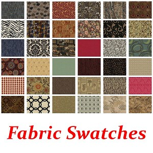 This is just a sample of our available fabrics.  Please click on the link in the description below to view all available fabrics.