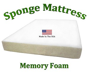 "Twin Sponge Mattress Memory Foam 8"" Total Thickness"